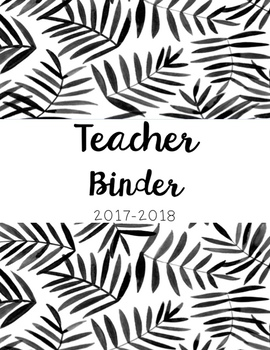 Teacher Binder Must Have!