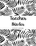 Teacher Binder Must Have!