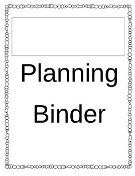 Teacher Binder Must Have