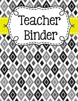 Teacher Binder Organization