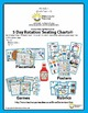5 Day Teacher Binder Organization Packet For Seating Chart
