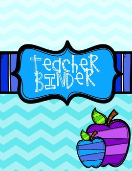 Teacher Binder Organizer