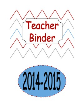 Teacher Binder Pack