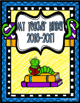 Teacher Binder Pack