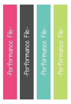 Teacher Binder - Performance Management