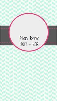 Teacher Binder & Plan Book! EDITABLE! 2017-2018