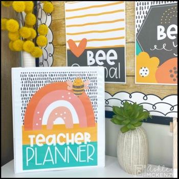 Teacher Planner & Binder Covers MEGA Bundle - Growing!