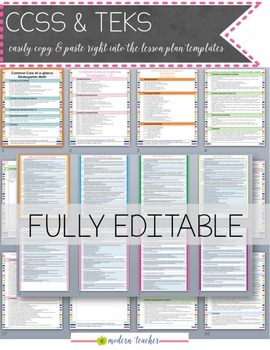 Teacher Binder Teacher Planner Editable : Free Updates Happy Day Theme