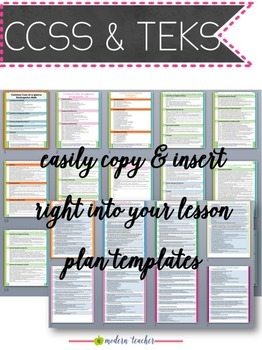 Teacher Binder and Planner Editable :: Free Updates - Calming Colors Theme