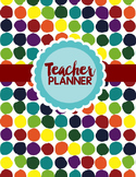 Editable Teacher Binder FREE Updates (Colorful Bugs)
