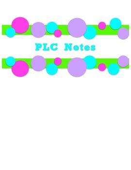 Teacher Binder Polka Dot