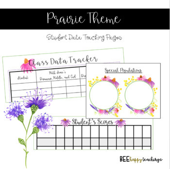 Teacher Binder - Prairie Theme