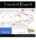 Teacher Binder - Prairie Theme