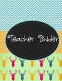 Teacher Binder Preview