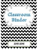 Teacher Binder Printable