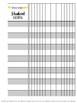 Teacher Binder Printable:  Student Checklists