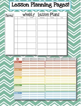Teacher Binder Resources (Forms, Calendars, Grade Sheets, Dividers, and More!)