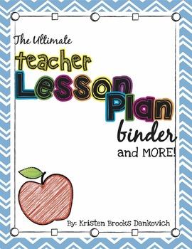 Teacher Binder Resources (Forms, Calendars, Grade Sheets,