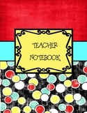 Teacher Binder Retro Themed