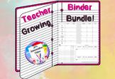 Teacher Binder - Secondary/High School