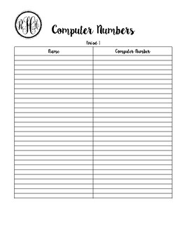 Teacher Binder Sheets [Mint Whale]