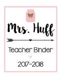 Teacher Binder Sheets [Pink]
