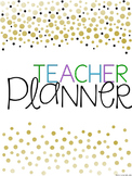 Teacher Binder {Spines and Covers}