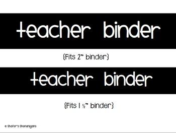 B/W Polka Dot Teacher Binder (EDITABLE and UPDATED for 2016-2017!)
