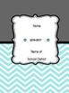 Teacher Binder- Stars and Chevron Planner (Editable)