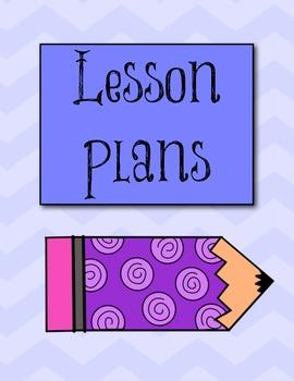 Teacher Binder Starter Kit {Ice Cream Chevron Theme}
