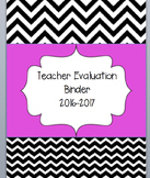 Teacher Binder- Teacher Evaluation based on OTES- Common Core-Ohio Teachers