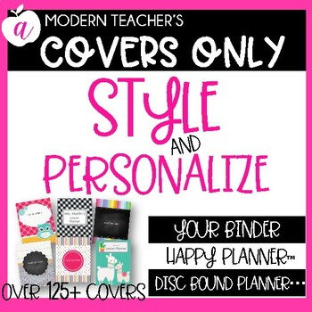 Teacher Binder * Teacher Planner Covers Only