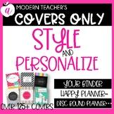 Teacher Binder * Teacher Planner Covers Only