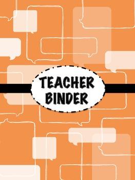 Teacher Binder Templates