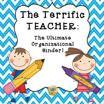 Teacher Binder- The Ultimate Organization Binder - Chevron
