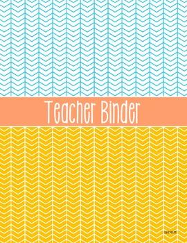 Teacher Binder - Vintage Modern