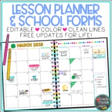 Teacher Binder and Lesson Planner