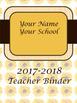 Teacher Binder and Planner- EDITABLE --Free Updates- Sunflower Theme