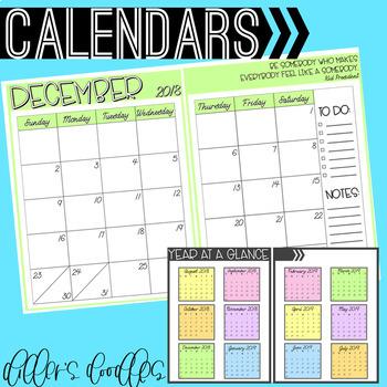 Teacher Binder and Planner: Editable!
