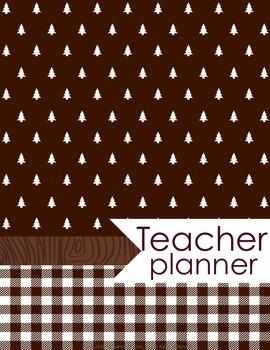 Teacher Binder and Planner Editable Free Updates Happy Camper