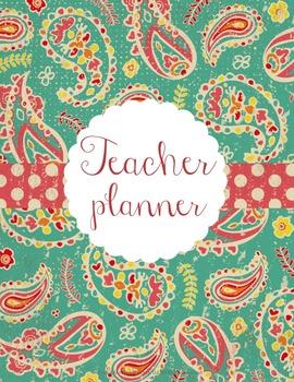 Teacher Binder and Planner Editable Free Updates Under the