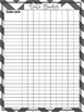 Teacher Binder and Plans- Black and White color POP (Editable and Fillable)