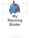 "Editable Teacher Binder for ""FREE"""