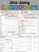 Editable Teacher Binder | FREE Updates Teacher Planner 2018-2019 Rainbow Chevron