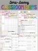 Editable Teacher Planner | FREE Updates Teacher Binder 2020-2021 Rainbow Chevron