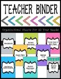Teacher Binder for the 2017-2018 School Year