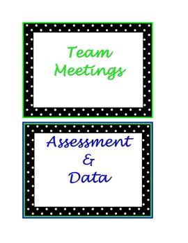 Teacher Binder or Folder Labels