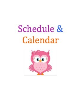 Teacher Binder (owls)