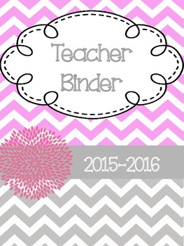 Teacher Binder/Planner
