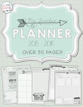 Teacher Binder/Planner 2015-2016